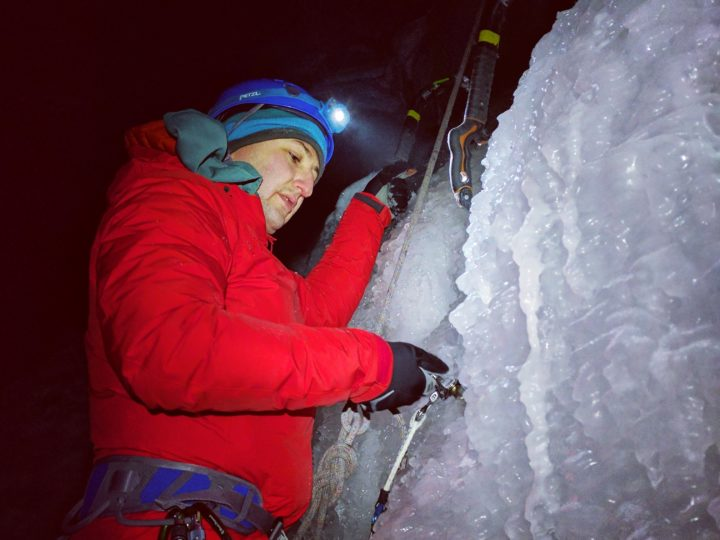 Night Terrors 1 – Ice Climbing at the Wedge Smears