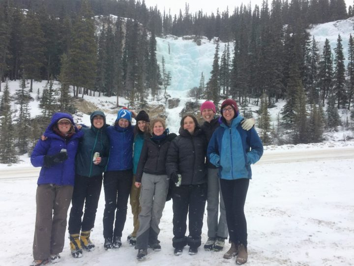 Rampart Creek Woman's Mentorship Ice Climbing Weekend