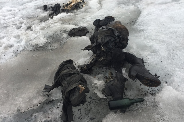 Mummified bodies found in the Alps