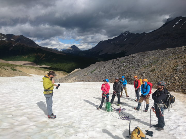 Introduction to Glacier Travel, July 22-23, 2017