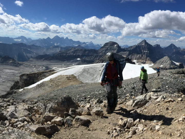 Neil Colgan mountaineering trip, Sept.1-3, 2017