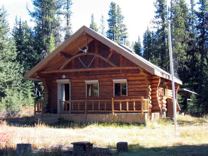 Elk Lakes Hut trip, Oct.13-15