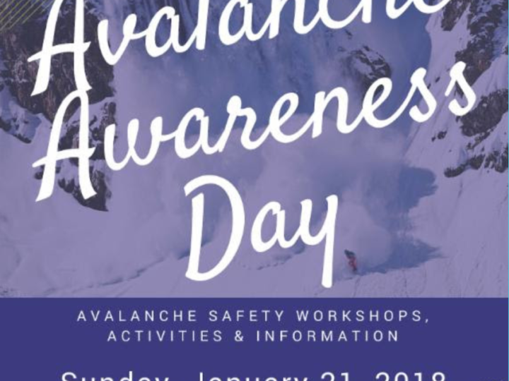 Avalanche Awareness Day at Burstall