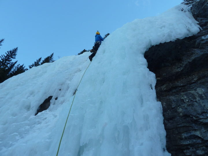 Draft version of an Ice Climbing Responsibility Code