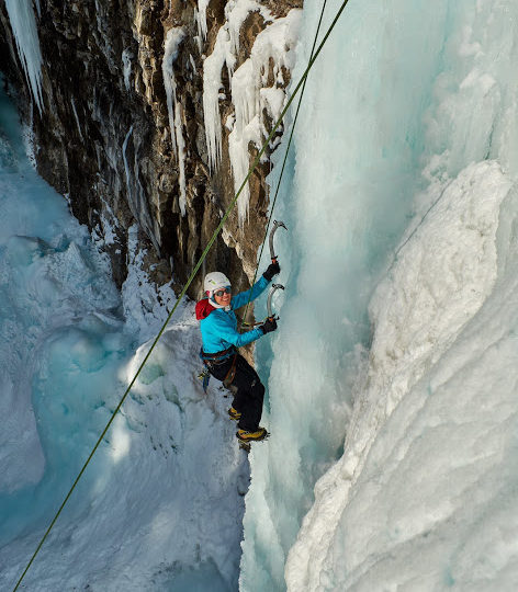 Ice Review 2018 – Johnston Canyon 'Prime Time'
