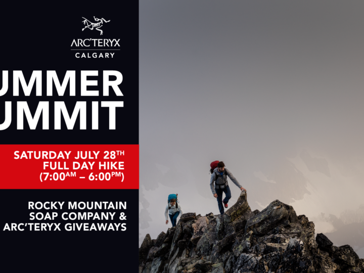 Summer Summit with Arc'teryx