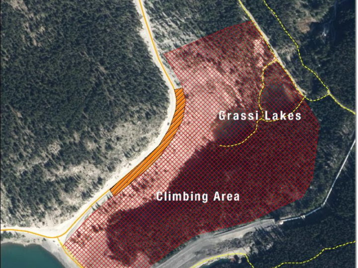 Ha Ling and Grassi Lakes Closure updates