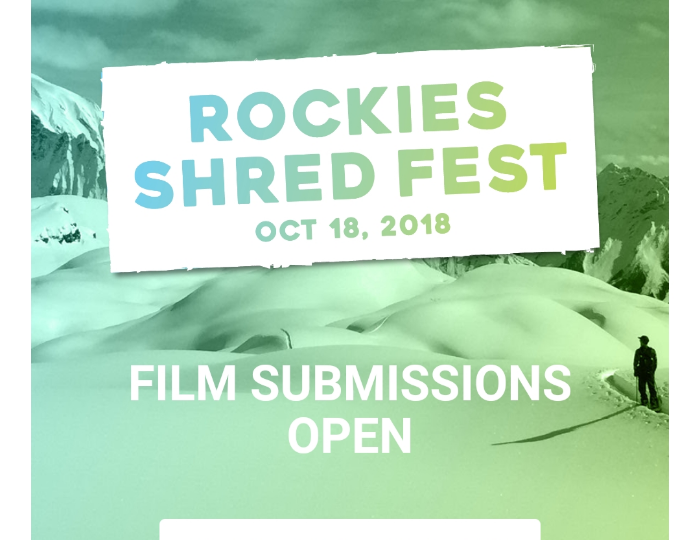Crowfoot Media – Submit your Shred Fest films…